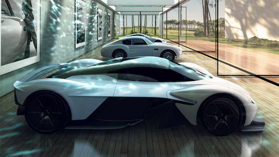 División Q de Aston Martin introduce galerías lujosas para supercarros