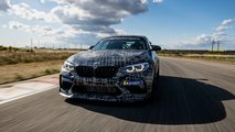 Тизеры BMW M2 Competition