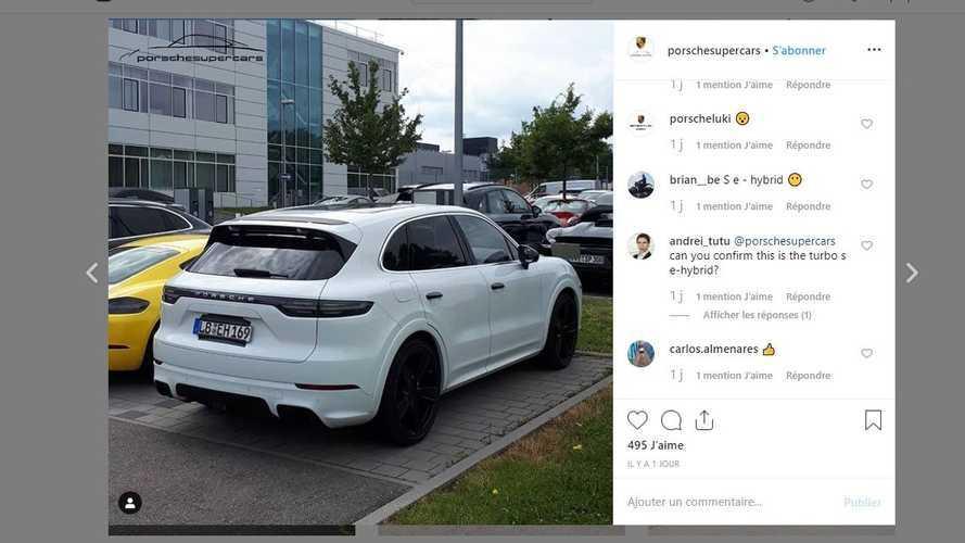 Est-ce le Porsche Cayenne Turbo S E-Hybrid ?