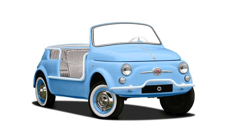 Fiat 500 Jolly, da Garage Italia un restauro