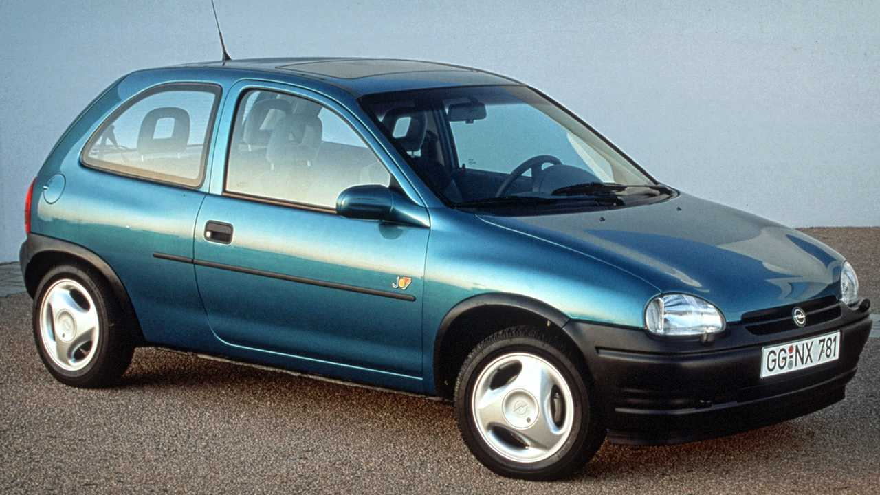 Opel Corsa Historie: Corsa B (1993)