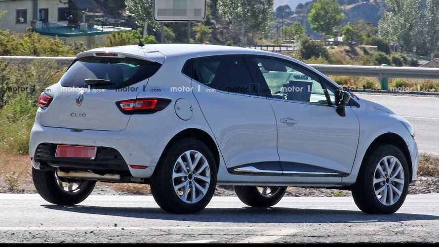 Renault supermini crossover makes spy photo debut disguised as Clio