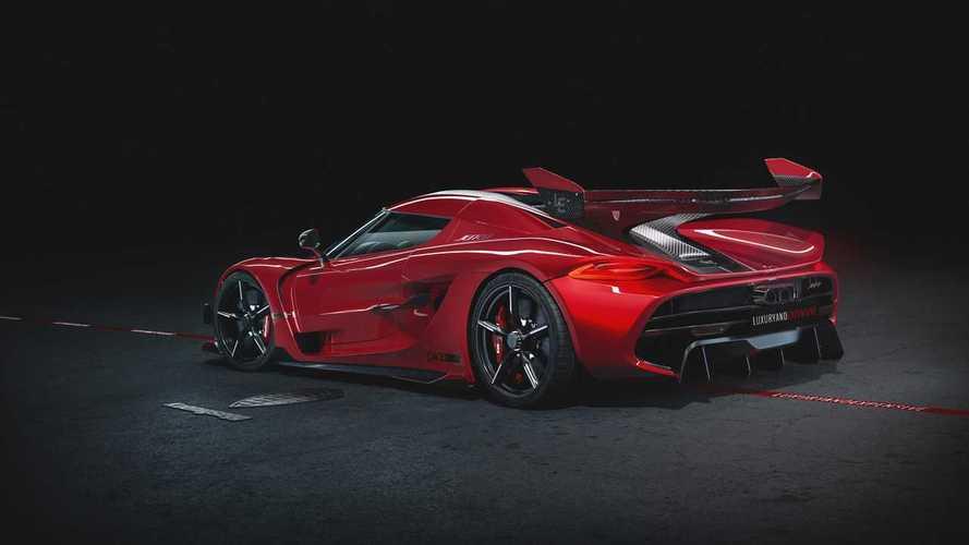 Tömör gyönyör a Koenigsegg Jesko Cherry Red Edition