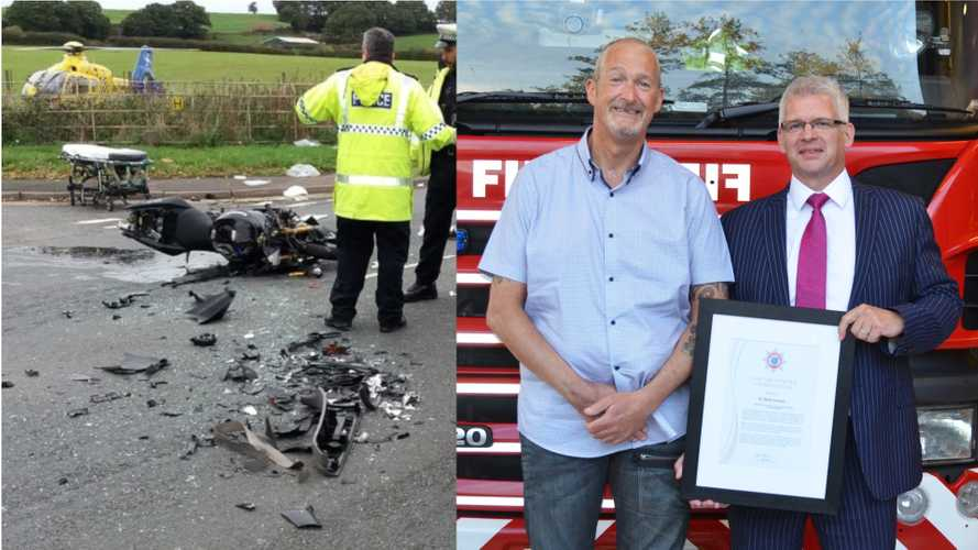 Heart Surgeon Saves Crashed Biker's Life With Roadside Surgery