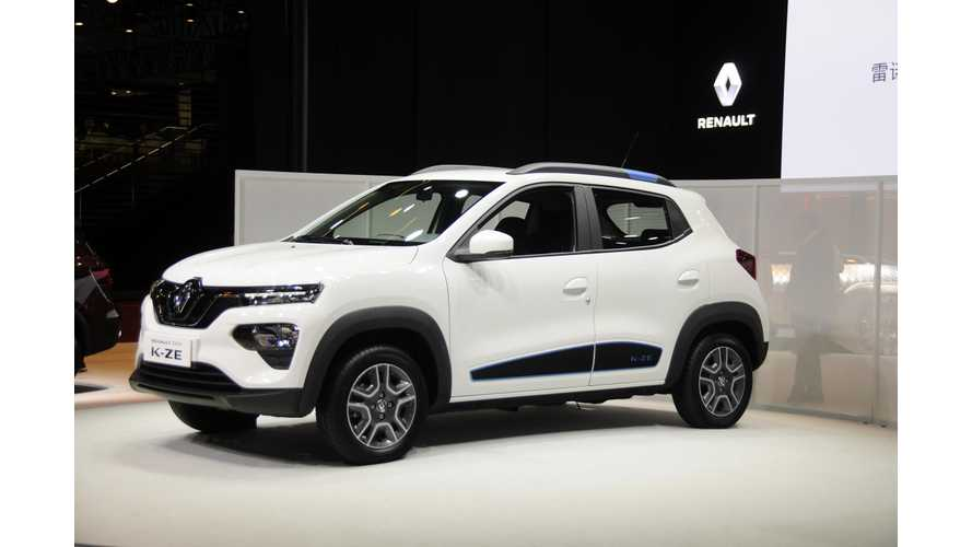 Renault City K-ZE Electric CUV Debuts At Shanghai Auto Show