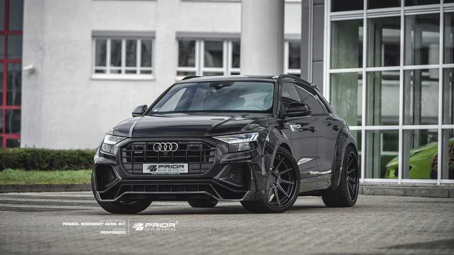 El Audi Q8 agudiza su diseño gracias a Prior Design