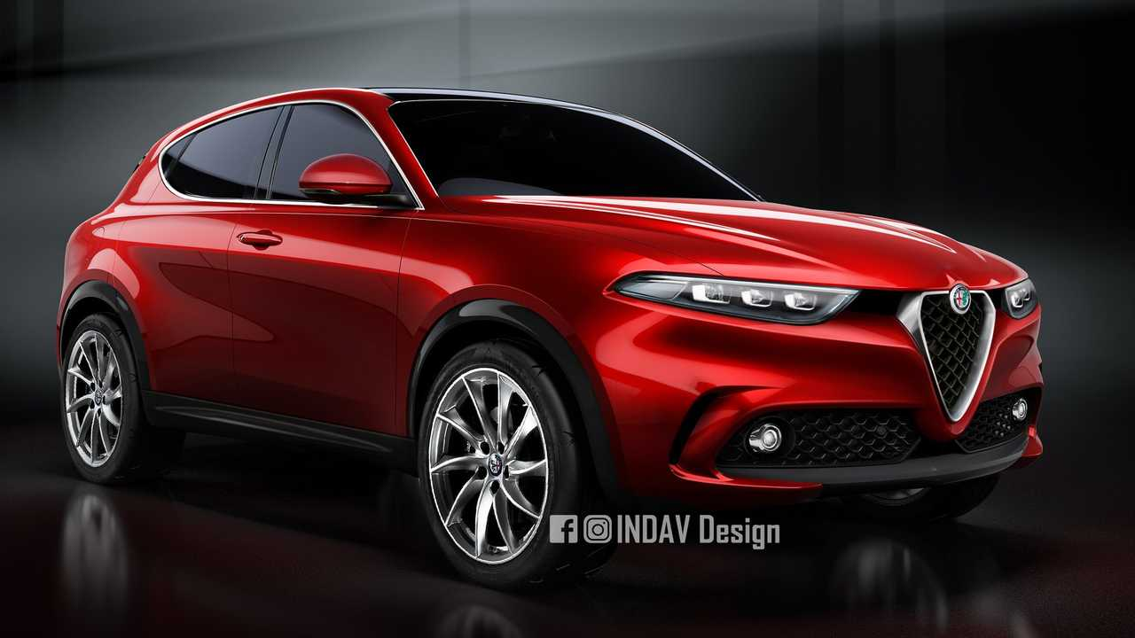 2021 Alfa Romeo Tonale production version rendering