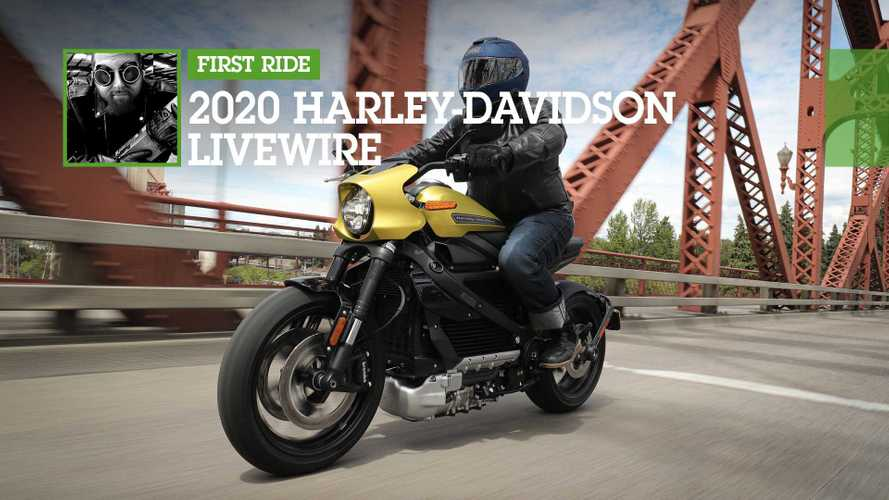 First Ride: 2020 Harley-Davidson LiveWire