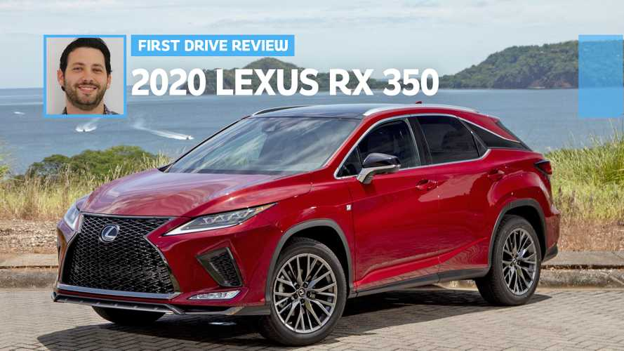 2020 Lexus RX 350 First Drive: A Better Prescription