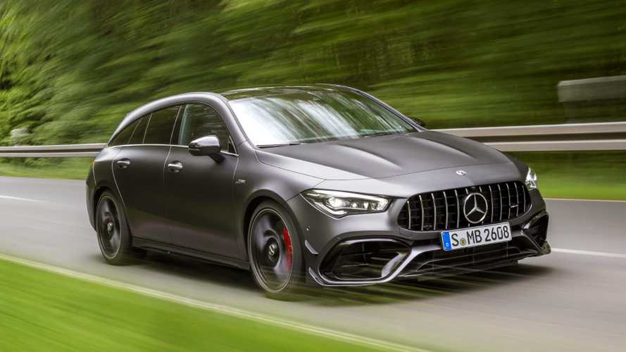 Mercedes-AMG CLA 45 Shooting Brake revealed