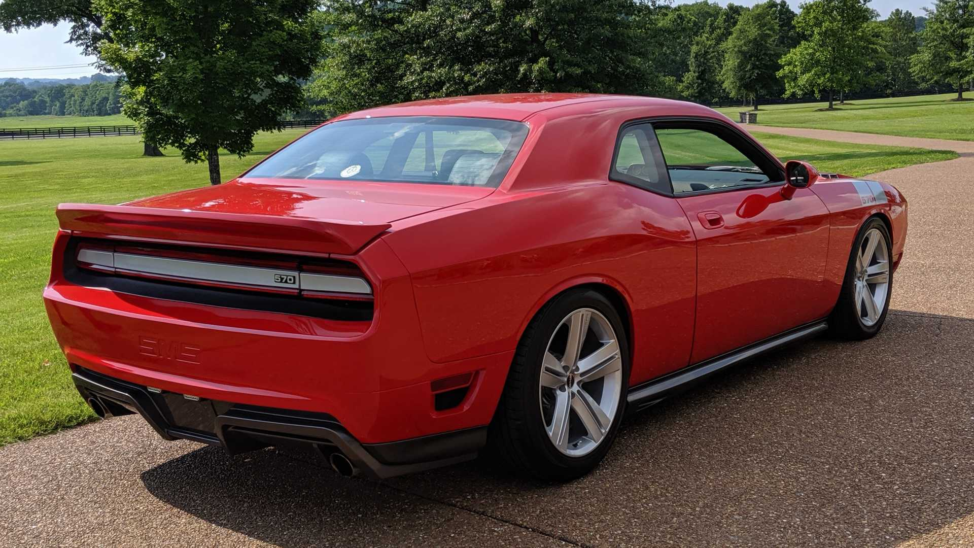 "[""Rare 2010 Dodge Challenger Saleen In TorRed Goes To Auction""]"