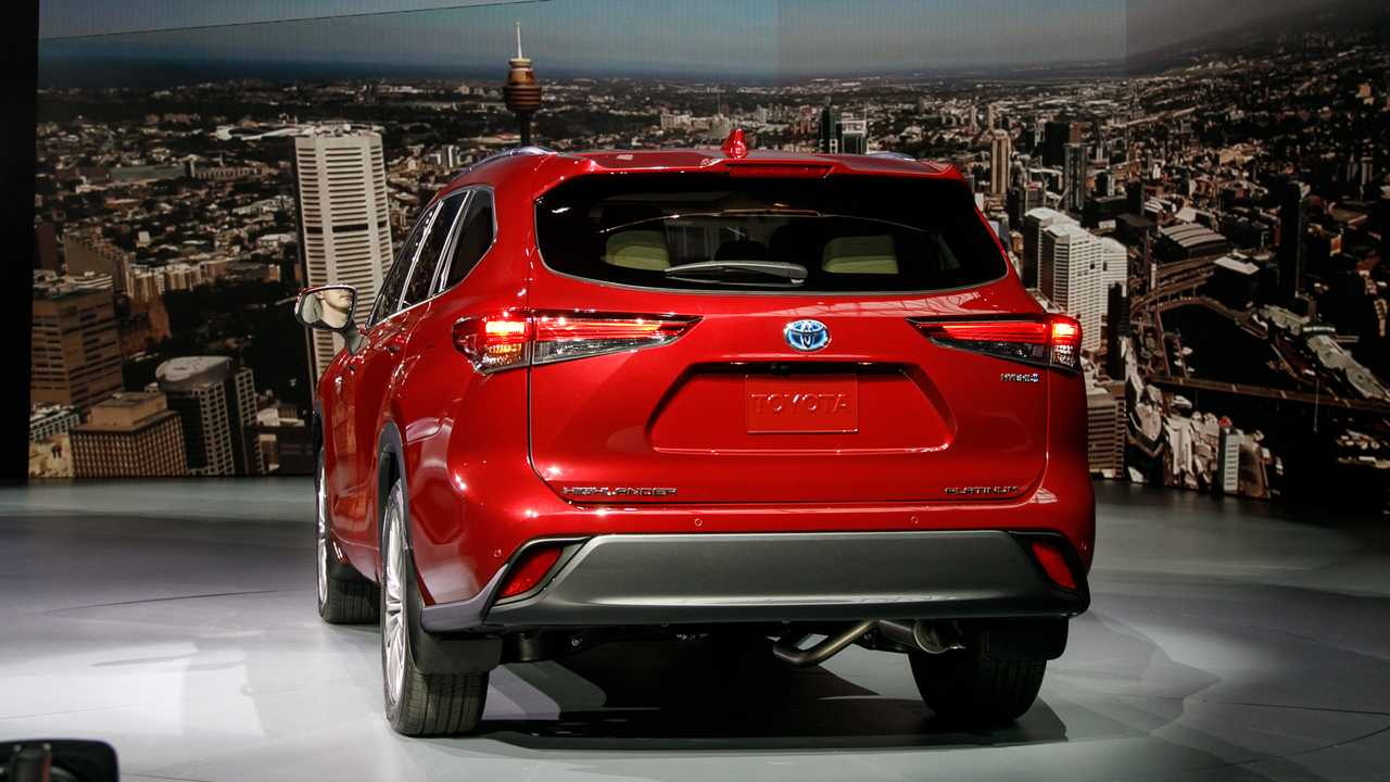 Video 2020 Toyota Highlander Is The Brand S Best Looking Yet