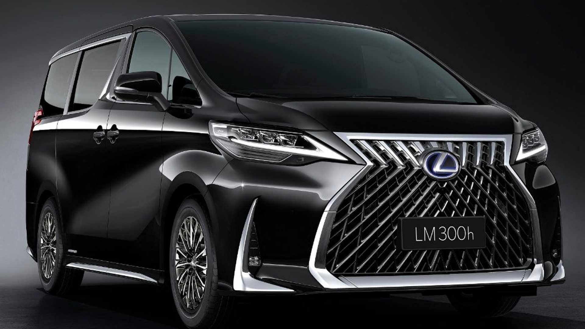 Lexus Lm Officially Revealed As Luxury Minivan