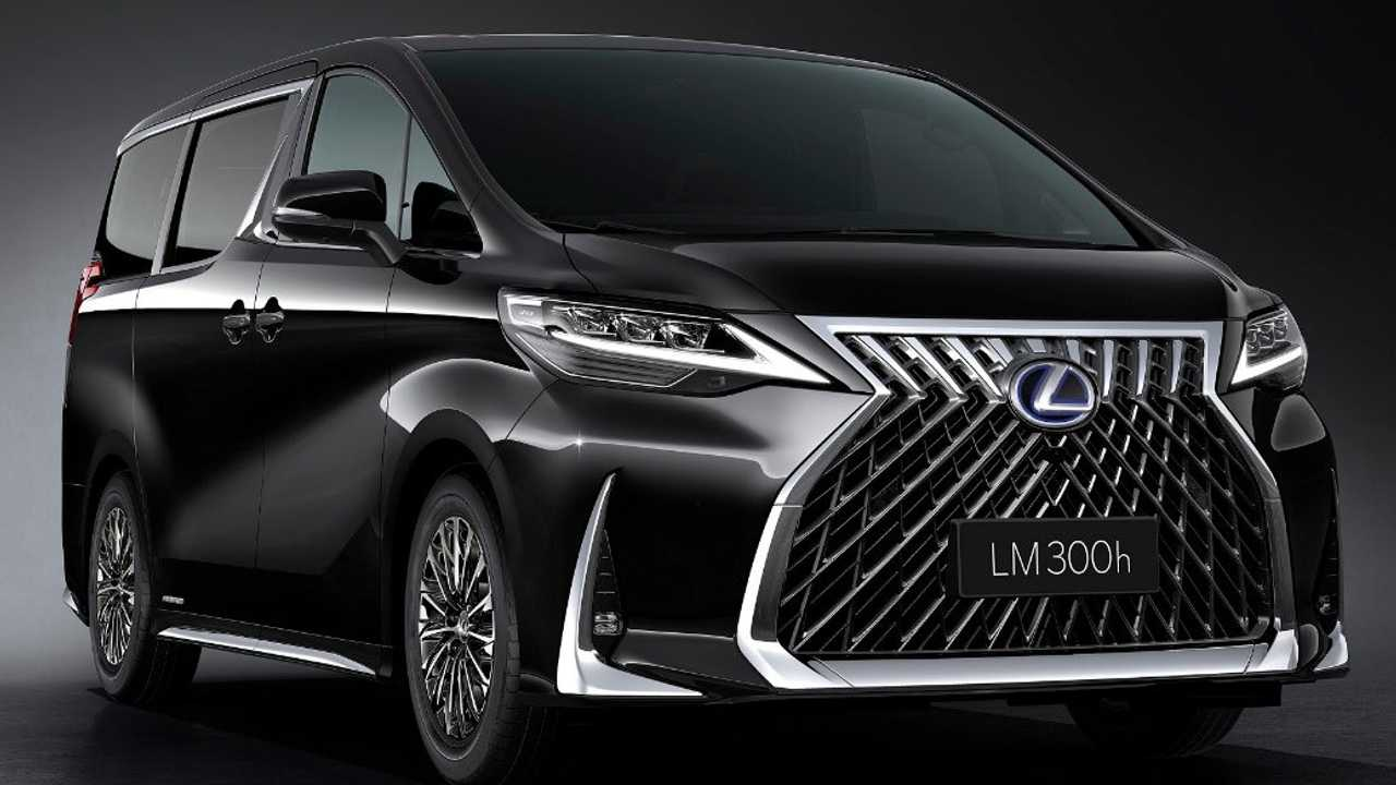 lexus lm officially revealed as luxury minivan