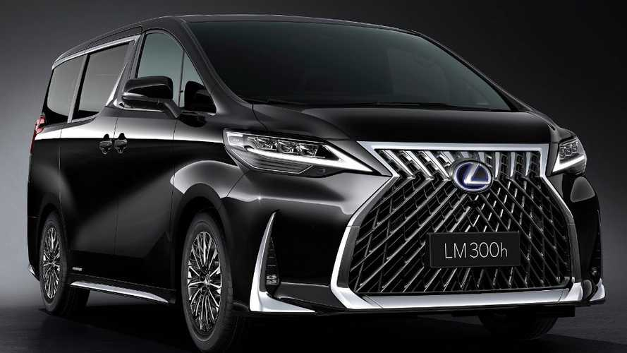 Lexus LM officially revealed as luxury MPV