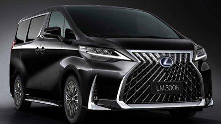 Lexus LM (2019): Van mit ungewöhnlicher Optik