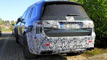 Mercedes-AMG GLS 63 Spy Photos