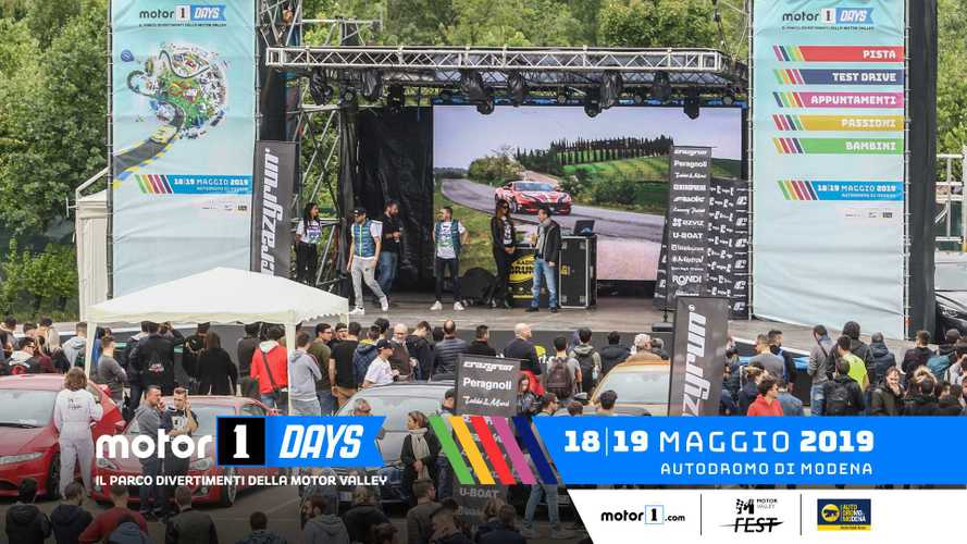 Motor1Days 2019, un weekend di festa per 15 mila persone!
