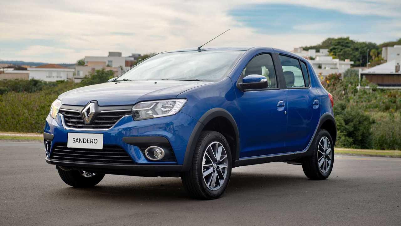 Renault Sandero Intense CVT 2020