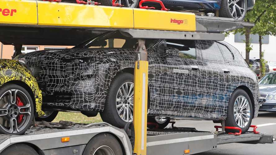 BMW iX5 Spy Photos