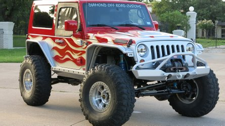 Hemi powered 2008 jeep wrangler jk is up for any challenge