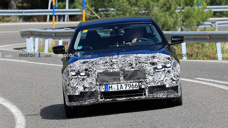 BMW 5 Series Facelift Spy Photos