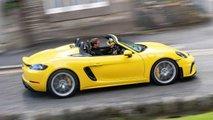 Nuova Porsche 718 Spyder 2019
