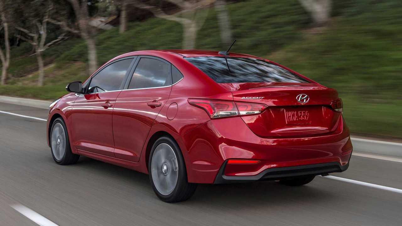 2020 Hyundai Accent.