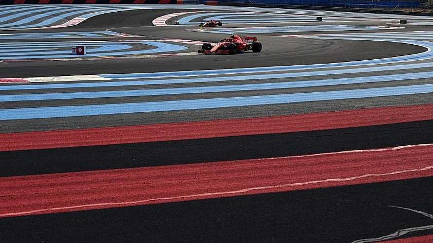 Los horarios del GP de Francia 2019 de Fórmula 1