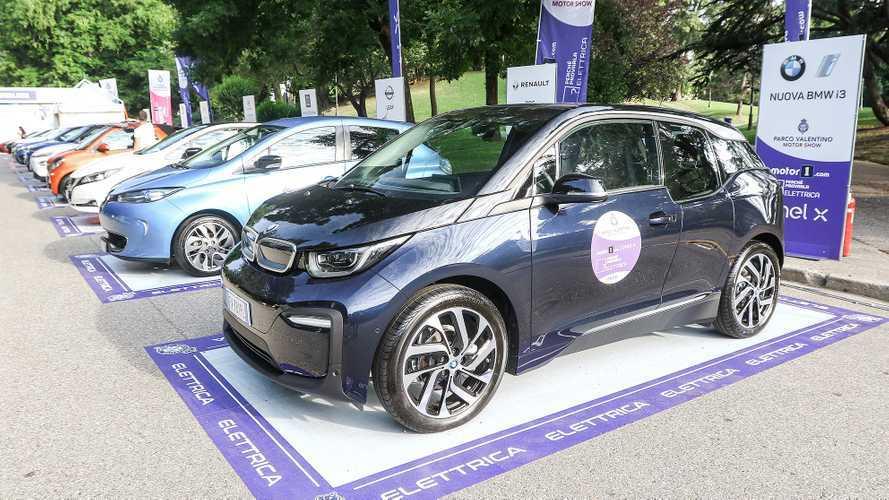 Auto elettriche, tutte le novità da provare a Parco Valentino