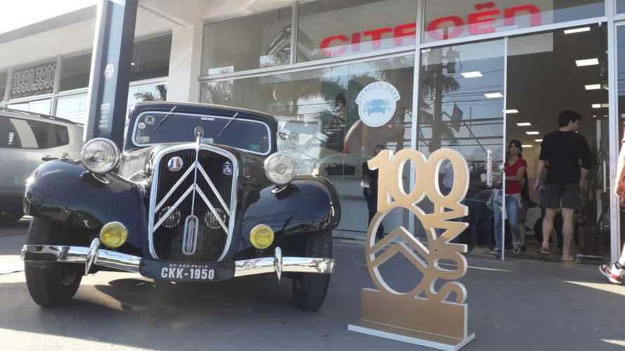 Citroën inicia exposição de clássicos que rodará o Brasil