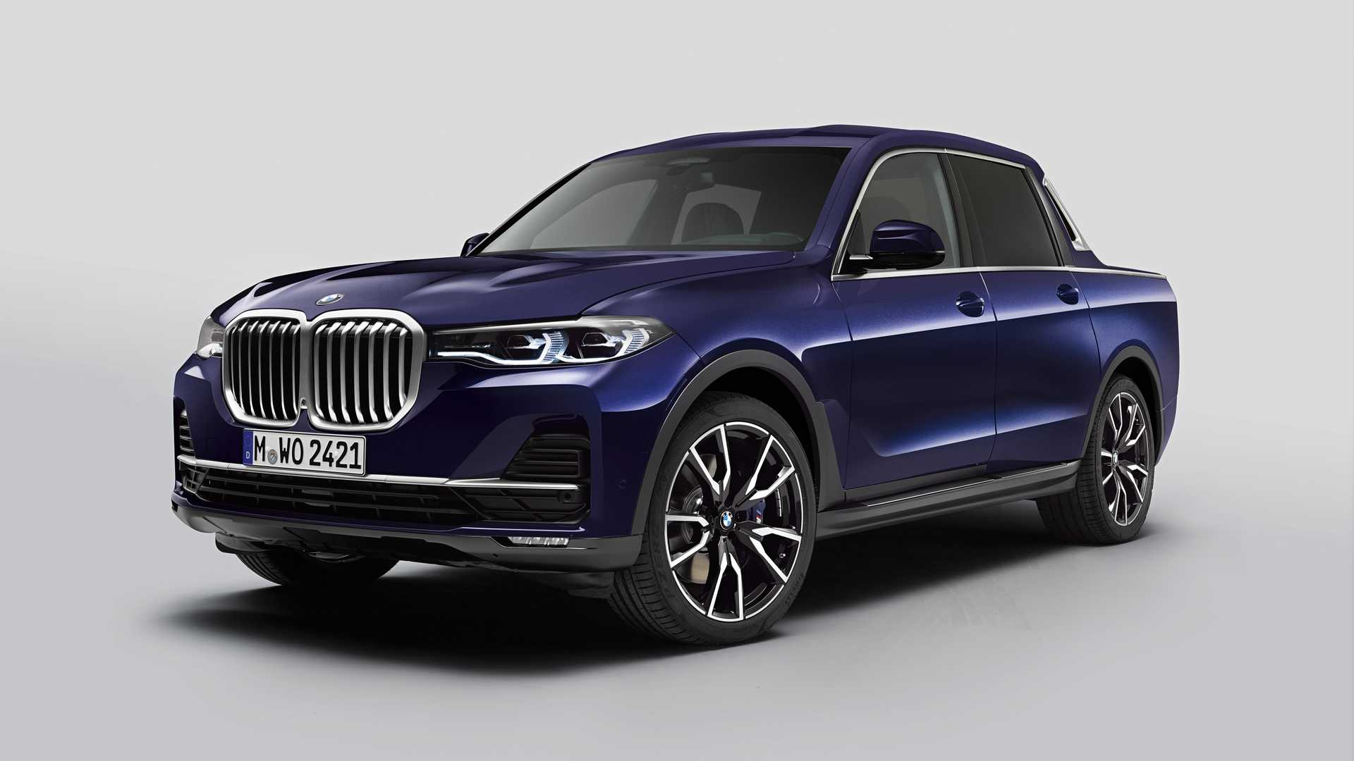 BMW X7 Truck Unofficial Rendering Is… Better Than The Real Thing?