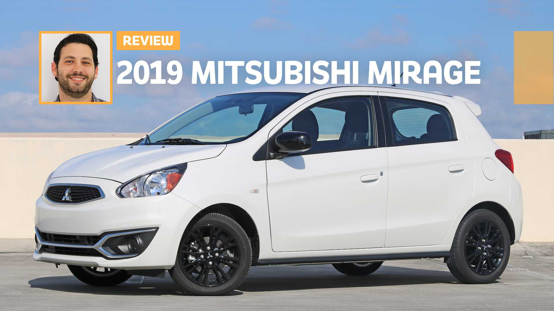 2019 Mitsubishi Mirage LE Review: Optical Illusion