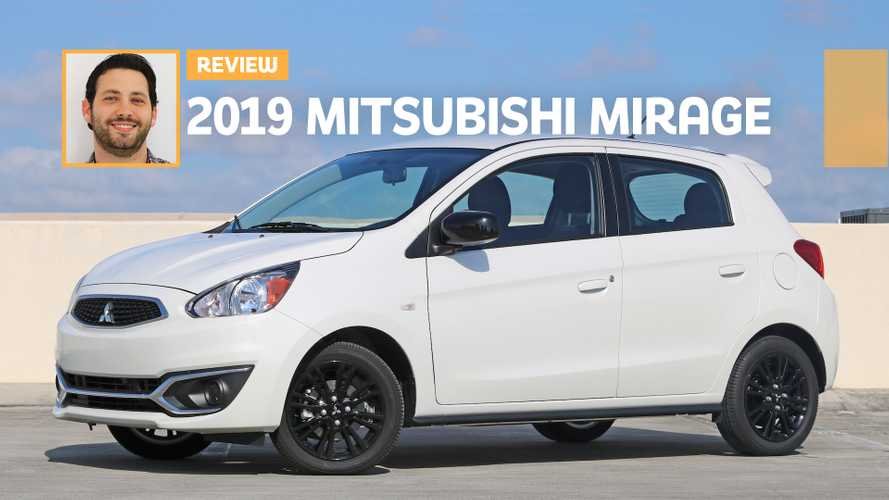 2019 Mitsubishi Mirage LE Review: Optical Illusion