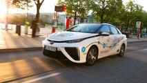toyota mirai 2019 test brennstoffzellenauto