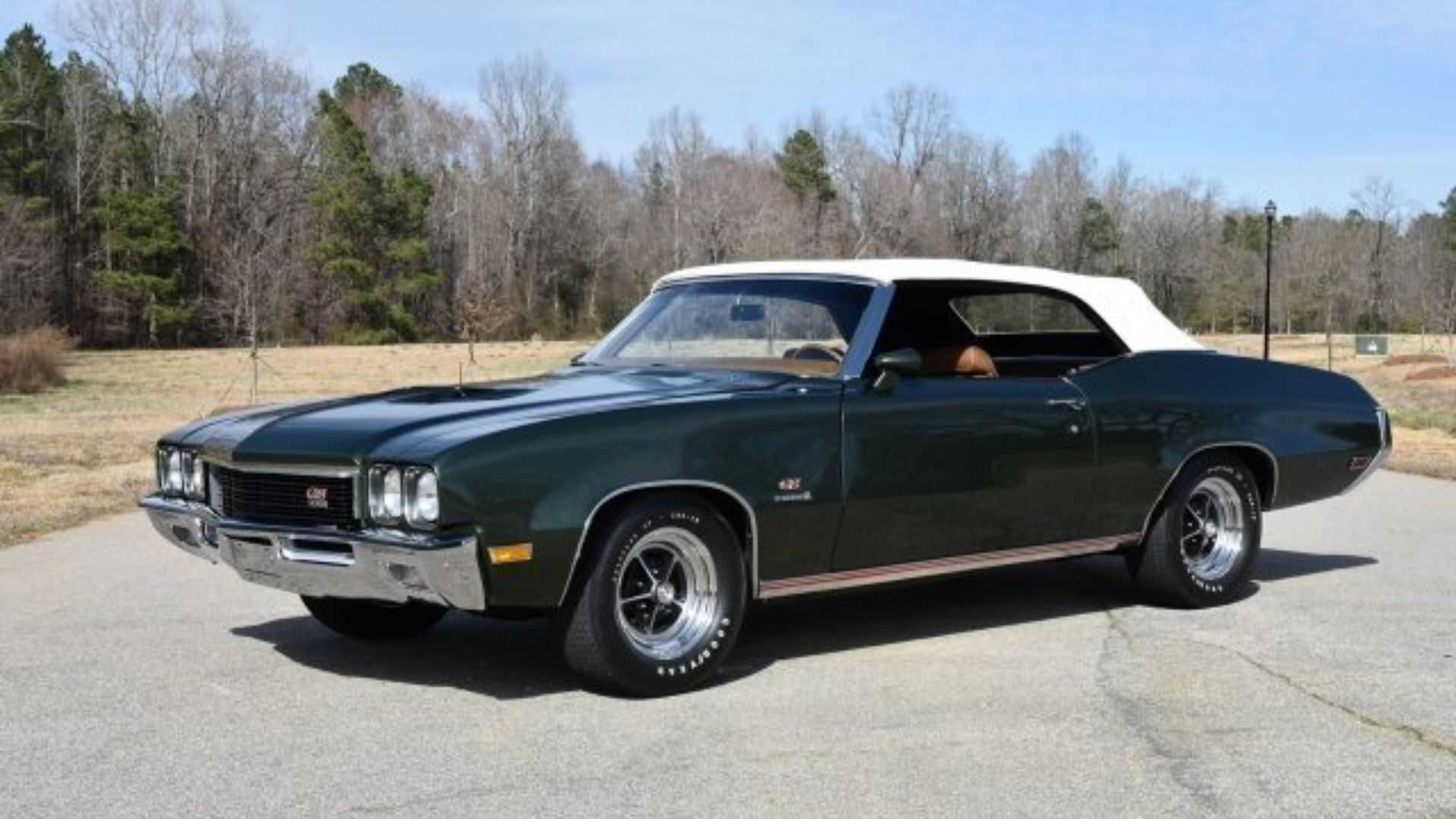 "[""This 1972 Buick GS Stage 1 Is A Rare Beauty""]"