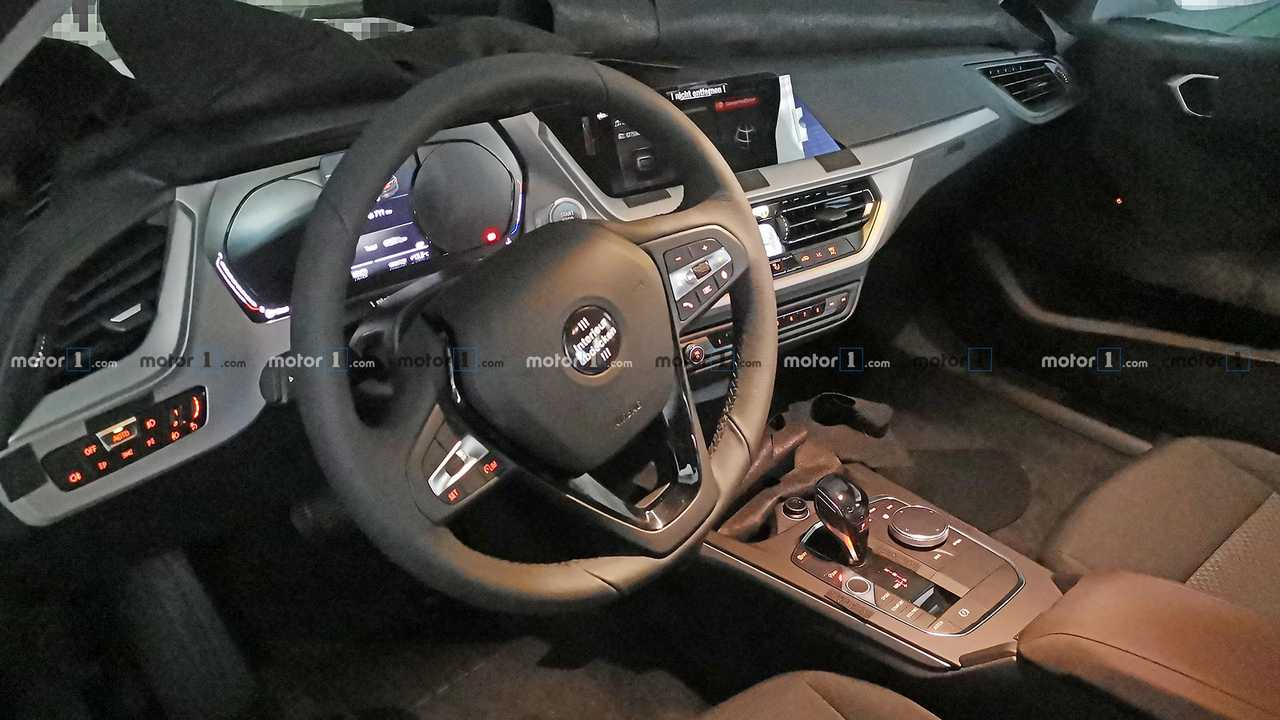Bmw 1 Series Spied Revealing Its New Interior