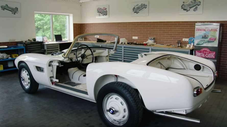 Watch BMW Restore Elvis Presley's BMW 507