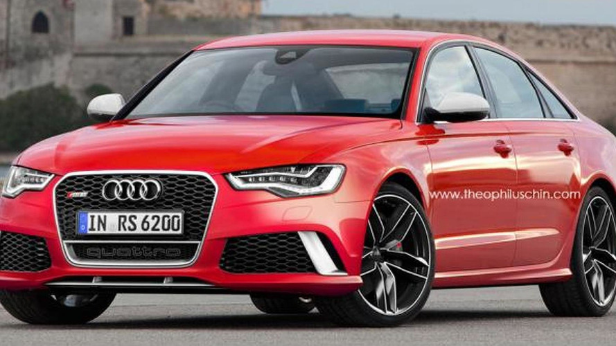 Audi RS6 Sedan digitally imagined