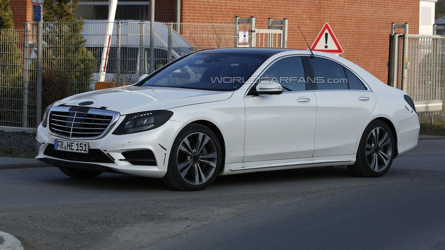 2014 Mercedes S-Class spied virtually undisguised