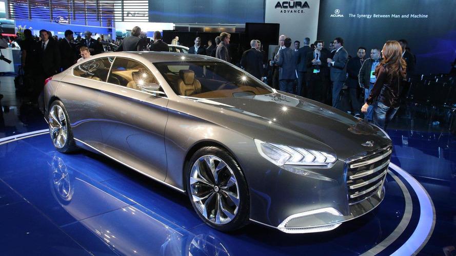 Hyundai HCD-14 Genesis Concept surprises Detroit