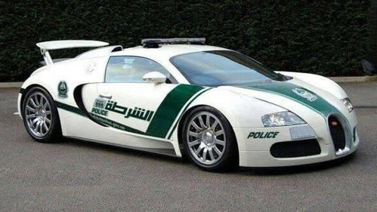Bugatti Veyron Dubai Police Fleet 17.05.2013