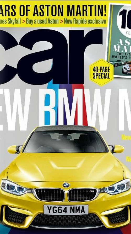 2014 BMW M3 previewed by CAR magazine