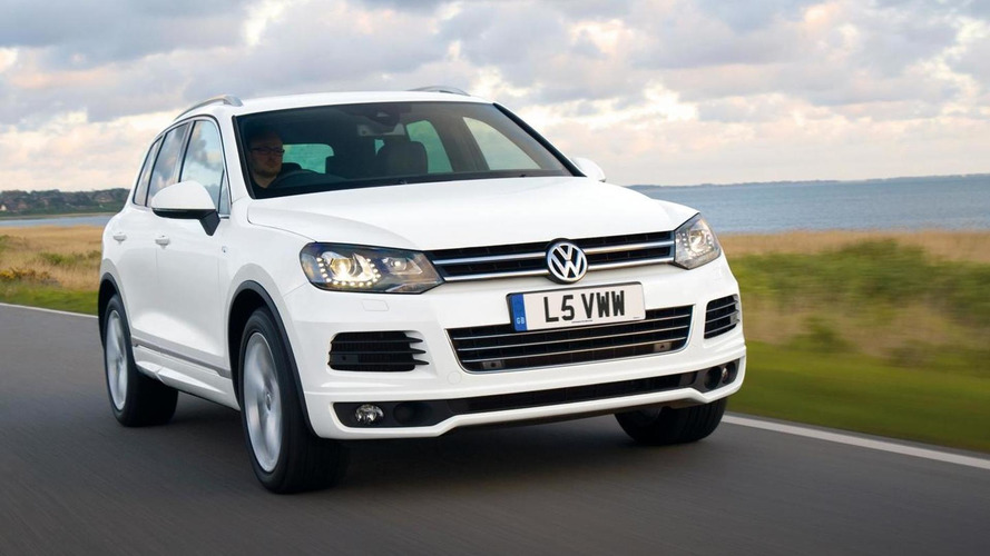 Volkswagen Touareg R-Line introduced, CC receives price cut (UK)