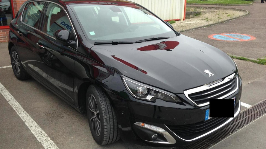 2014 Peugeot 308 photographed in the metal