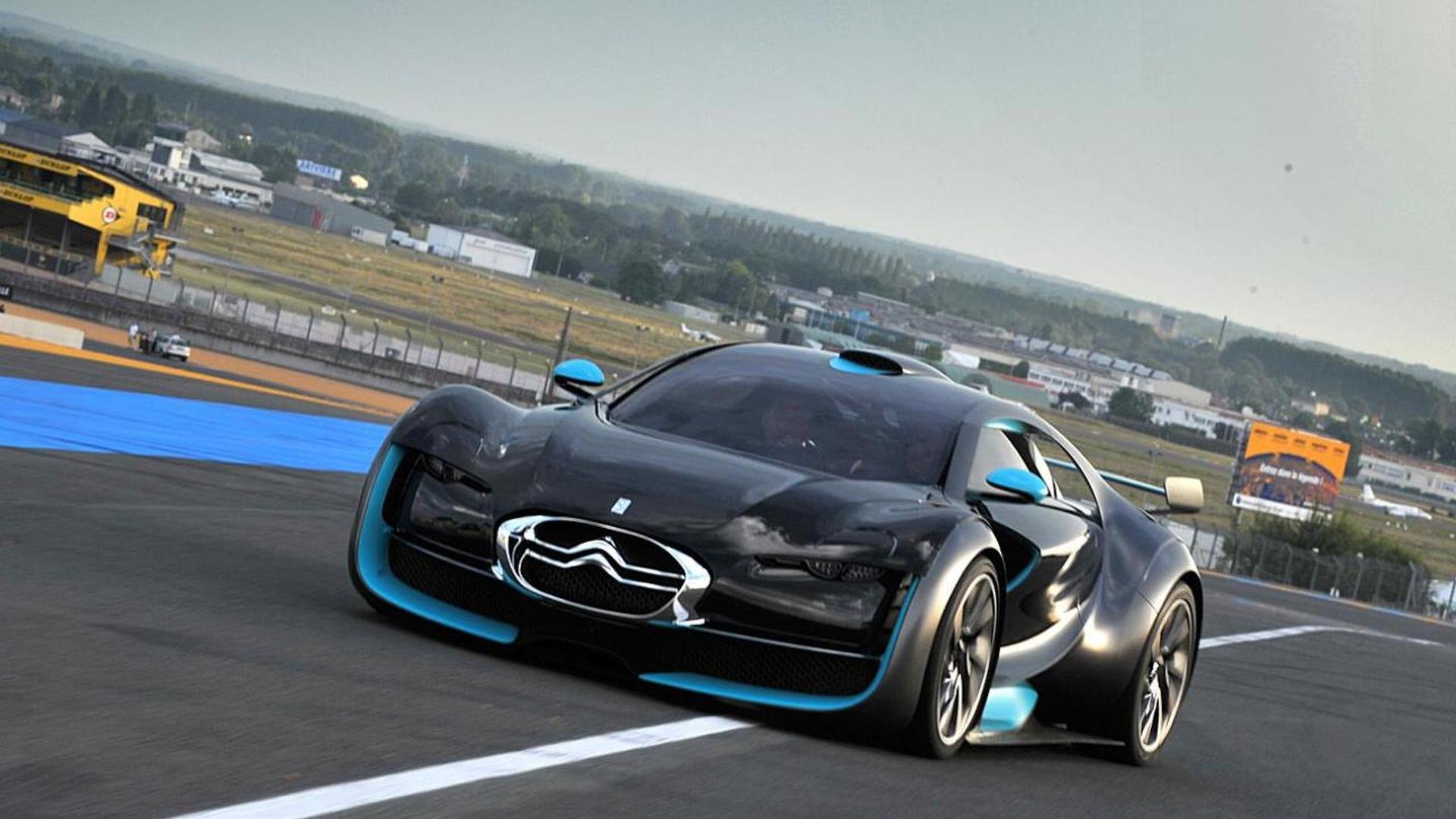 Citroen Survolt Metropolis Concepts Edge Close To Production