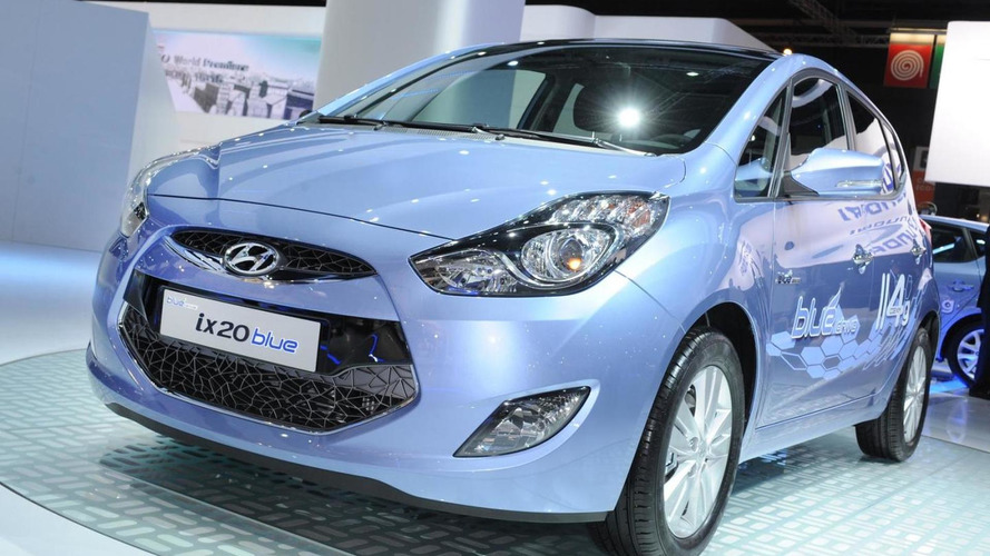 Hyundai ix20 officially unveiled in Paris