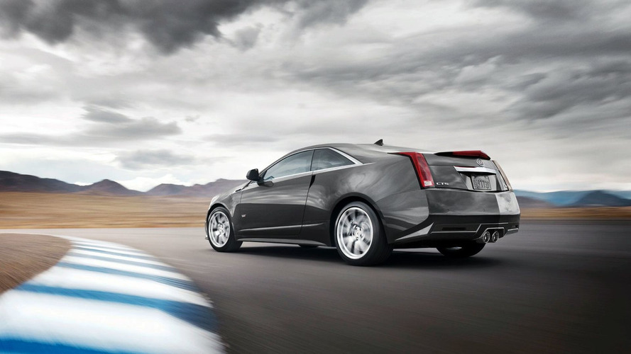 2011 Cadillac CTS-V Coupe Released Ahead of Detroit Premiere