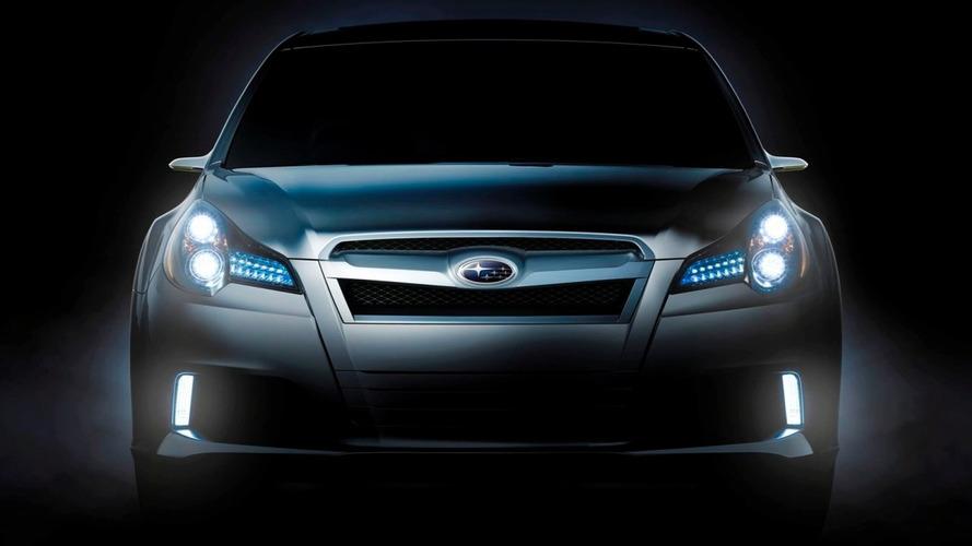 Subaru Legacy concept teaser released ahead of Detroit debut