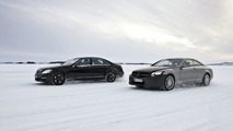 AMG 5.5-litre V8 biturbo engine: Winter testing in northern Sweden
